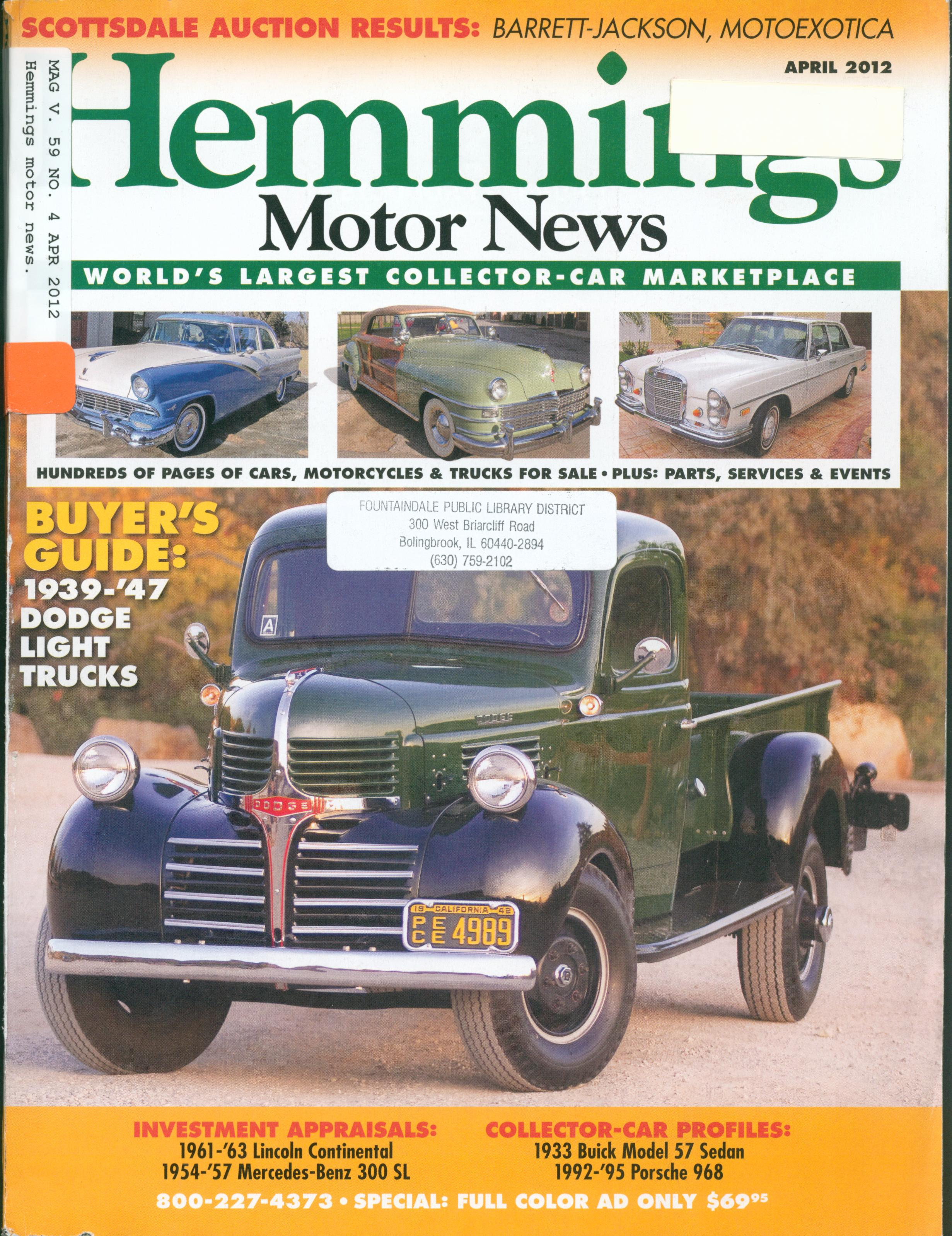 1949 51 fords hemmings motor news autos post for Hemmings motor news classified ads