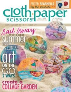 Cloth Paper Scissors - JUL - AUG 2013