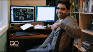 Sal Khan - - - - Preparing another lesson for KhanAcademy.org