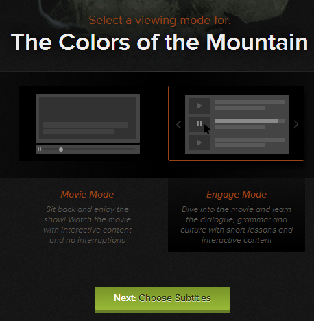 Colors of the Mountain Subtitles