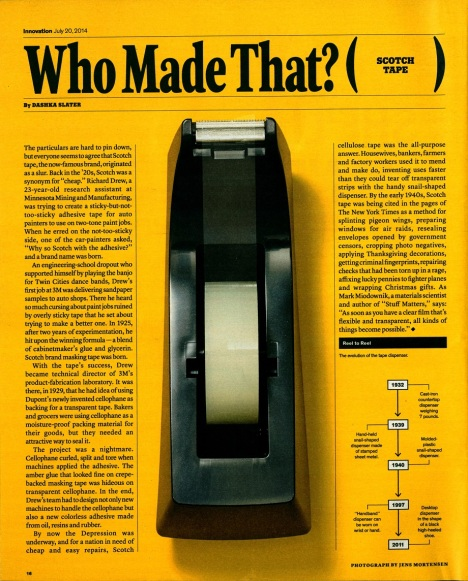 Who Made That - Scotch Tape -25 july 2014