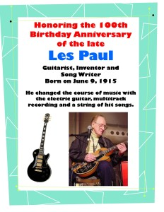 Les Paul 100th Birthday Display - 09 JUN 2015 - Version 2 - JPEG
